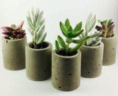Concrete Planters Cement Planters Concrete Vase by crimsonking