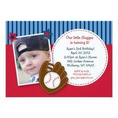 Shop All Star Baseball Photo Birthday Invitations created by PoshPartyPrints. Personalize it with photos & text or purchase as is! Photo Birthday Invitations, Baby Shower Invitations, Custom Invitations, Baseball Birthday Party, Baby Birthday, Birthday Ideas, Base Ball, Carton Invitation, Baseball Photos