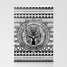Aztec Boba Helmet black and white pencils sketch stationery cards #starwars #aztec #darthvader #starlord #bobaffet