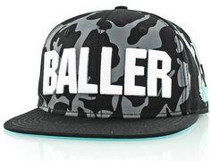 Core Baller Snapback Cap by K1X