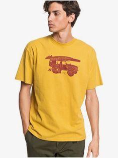 quiksilver, Waterman Motion Sickness T-Shirt, HONEY (ylv0)