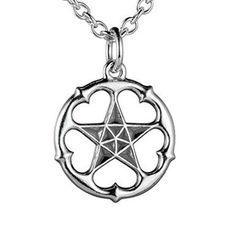Michael Monroe / Kalevala Koru - A Star All Heart (silver pendant, small) NordicJewel.com