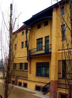 Villa Esche (1902-1903) Architecte : Henry Van de Velde. Etat actuel.