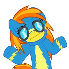 My Little Pony: Friendship is Magic Spitfire Shrug