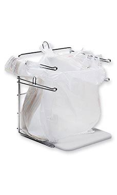 Hanging Plastic Bag Holder Booth Displays Amp Store Ideas