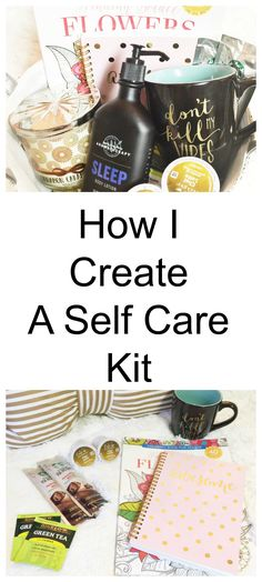 We play many roles in life. We have to make sure we are taking the time out to self care from everyday wear and tear. Do you have a self care kit?