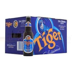 Buy Tiger Premium Singaporan Lager Beer Bottle 24x330ml at the cheapest wholesale price online in the UK