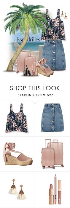 """Espadrilles"" by sabine-713 ❤ liked on Polyvore featuring Aéropostale, Topshop, Tory Burch, CalPak, Loren Hope and Marc Jacobs"