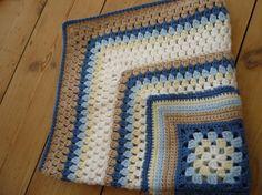 Granny Cluster Crochet Blanket
