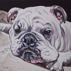 "buford 30x30"" oil on canvas by dragoslav milic"