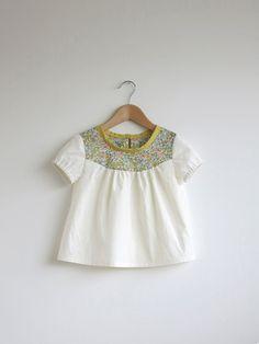 blusa de algodón con detalle grabado Liberty por swallowsreturn