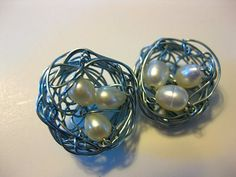 *** Good one***How to Make Bird's Nest Jewelry - The Beading Gem's Journal