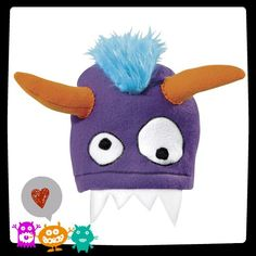 Love this! Fleece monster hat!