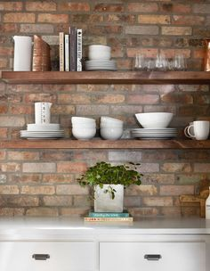 Explore DIY Shelves That Work For Many Spaces Including Kitchens, Garage  And Living Rooms.
