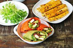 Seasaltwithfood: Tofu Wrap