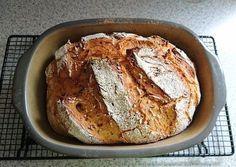 Heute wird gegrillt und dieses Brot gibt es als Beilage