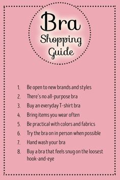 Tips for finding the perfect bra including for those of us who tend to shop at the last minute.