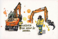 Digging a hole for others | por nina drawing