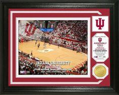 Indiana Hoosiers Single Coin Stadium Photo Mint - Basketball Z157-3320478299
