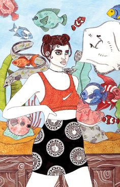 Sad Girls Zine - Laura Callaghan Illustration