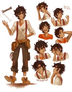 dibujos de viria de percy jackson, harry potter, avatar y ma - Taringa!