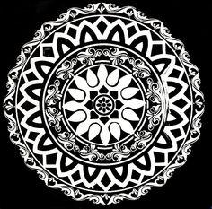 alpana design black and white - Google Search