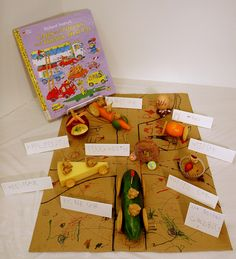 Edible vehicles to go with Richard Scarry's Cars and Trucks and Things that Go