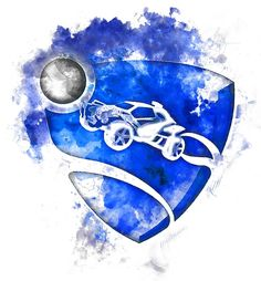 Rocket League Logo Painting