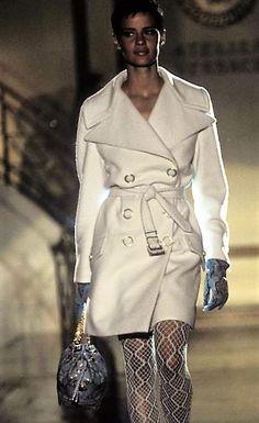 Nadege for Atelier Versace Runway Show 90's