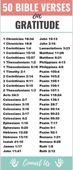 50 Powerful Bible Scriptures on Gratitude