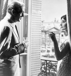 Love in the afternoon - Audrey Hepburn and Gary Cooper