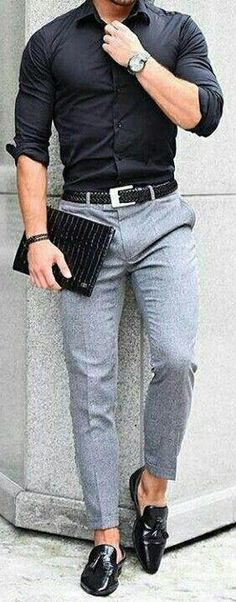 19 coolest casual street style looks for men – PS 1983 - Men's Fashion Guide Mode Masculine, Fashion Mode, Luxury Fashion, Fashion Trends, Fall Fashion, Fashion Boots, Mens Smart Fashion, Cheap Fashion, Trending Fashion