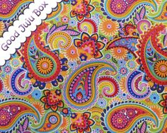 Paisleys - Multicolor from Good Juju Box by DaWanda.com