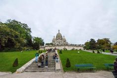 Montmartre y la Basílica del Sagrado Corazón París
