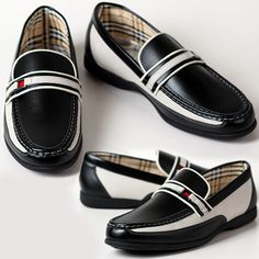 New Legend Black Deluxe Dress Casual Formal Loafers Mens Shoes | eBay