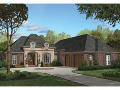 ... House plan on Pinterest   House plans, Mediterranean House Plans and