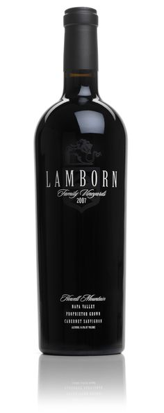 Lamborn Family Vineyards!  Gotta love it. Heidi Barrett is the acclaimed winemaker. Available at Vintner's Collective in downtown Napa!