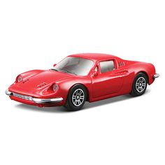 Bburago Ferrari Series Race and Play 1:43 Scale Die-Cast Car - Red Dino 246 GT $9.99  #BestRevews