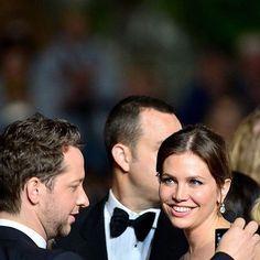 Dasha Zhukova   Derek Blasberg  Cannes the Nice Guys premiere