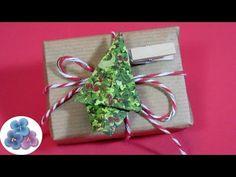 Origami: Adornos navideños de árbol de Navidad   Manualidades