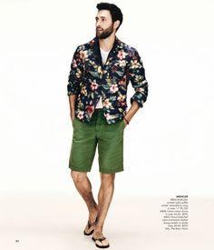Noah Mills  for Neiman Marcus Spring 2013 Catalogue