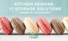 Chocolate, vanila and strawberry macaroons (aka macarons) on a white wooden table with a robin. - Chocolate, vanila and strawberry macaroons (aka macarons) on a white wooden table with a turquoise background. Kitchen Organisation, Kitchen Storage Solutions, Strawberry Macaroons, Turquoise Background, Wooden Tables, Macarons, Kitchen Design, Chocolate, Sweet