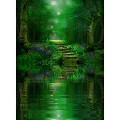 Fairies and Fantasy World ❤ liked on Polyvore featuring backgrounds, nature, pictures and filler