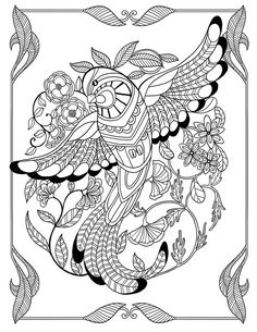 Welcome to Dover Publications ... free coloring book sample page ...