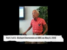 Video # 2 Dr. Richard Bernstein (Part 2)--Nutrition & Metabolism Society Meeting--May 8, 2010