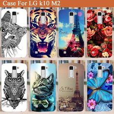 High Quality Phone Case For LG K10 covers Cartoon DIY Hard PC Plastic Fashion Cover Case For LG K10 M2 Phone Case In Stock