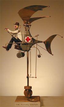 Keith Newstead (1956 Royaume-Uni) est un créateur d'automates depuis plus de 25 ans