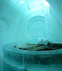 Ice Hotel, Svédország   femina.hu