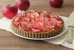 Recept na bezlepkový dezert s jablkovými ružičkami 1