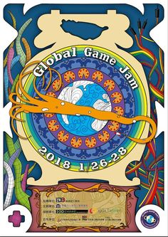 Poster showcase 2018 | Global Game Jam® Poster Creator, Game, Creative, Design, Gaming, Toy, Games